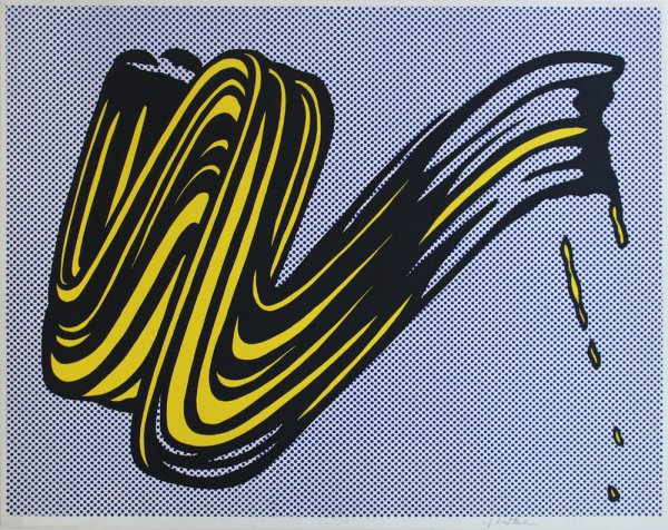 Brushstroke Corlett Ii 5 by Roy Lichtenstein