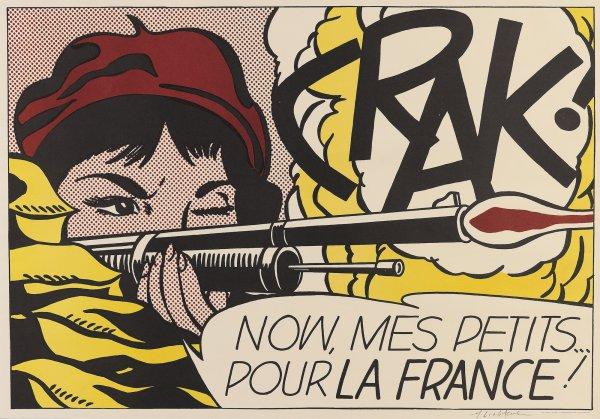 Crak! (corlett Ii.2.) by Roy Lichtenstein