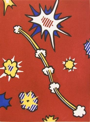 De Denver Au Montana, Depart 27 Mai 1972 by Roy Lichtenstein