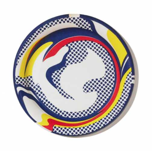 Paper Plate by Roy Lichtenstein at