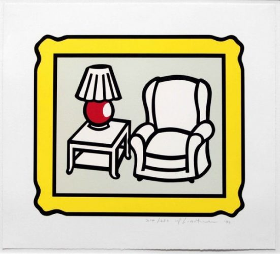 Red Lamp by Roy Lichtenstein at Michael Lisi/Contemporary Art