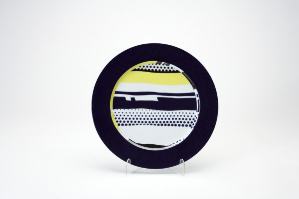 Rosenthal Plate 1 by Roy Lichtenstein