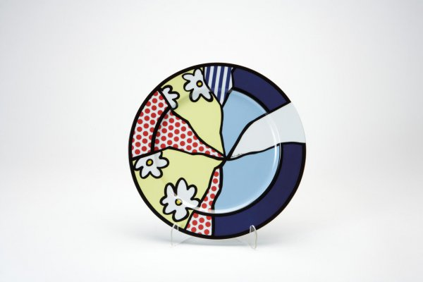 Rosenthal Plate 2 by Roy Lichtenstein