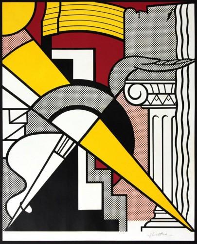 Stedelijk Museum Amsterdam by Roy Lichtenstein