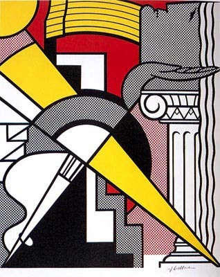 Stedelijk Museum Poster by Roy Lichtenstein at Independent Gallery
