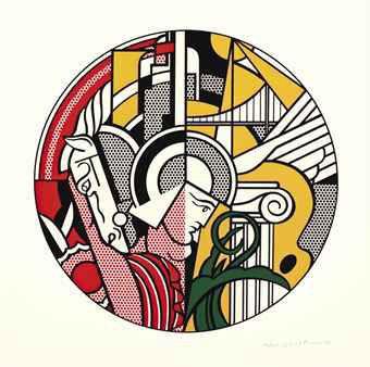 The Solomon R. Guggenheim Museum Poster by Roy Lichtenstein at Roy Lichtenstein