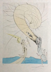 Freud With Snail Head by Salvador Dali at ModernPrints.co.uk