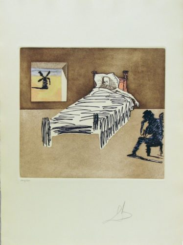 Le Legacy, Don Quixote Man Of La Mancha by Salvador Dali