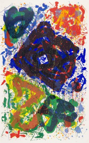 L'etoile by Sam Francis