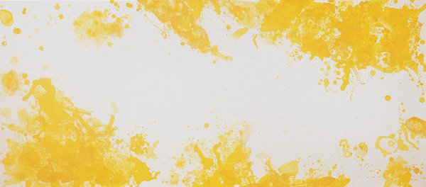 Spleen (yellow) by Sam Francis