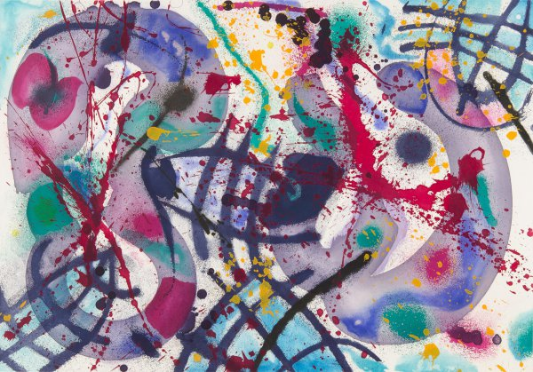 Trietto Iii by Sam Francis at Christopher-Clark Fine Art