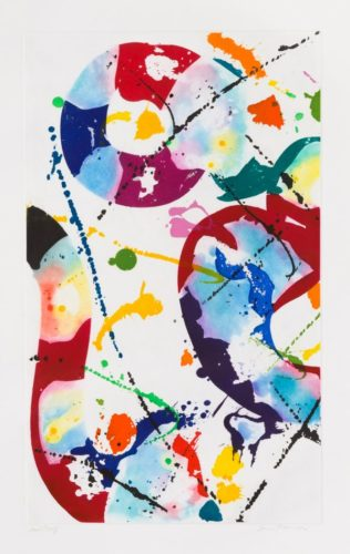Untitled (sfe-085) by Sam Francis at Christopher-Clark Fine Art