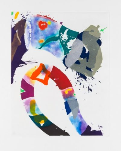 Untitled (sfe-092) by Sam Francis at Christopher-Clark Fine Art
