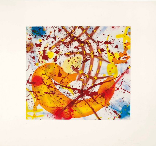 Untitled – Yellow by Sam Francis