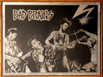 Bad Brains by Shepard Fairey at Brandler Galleries