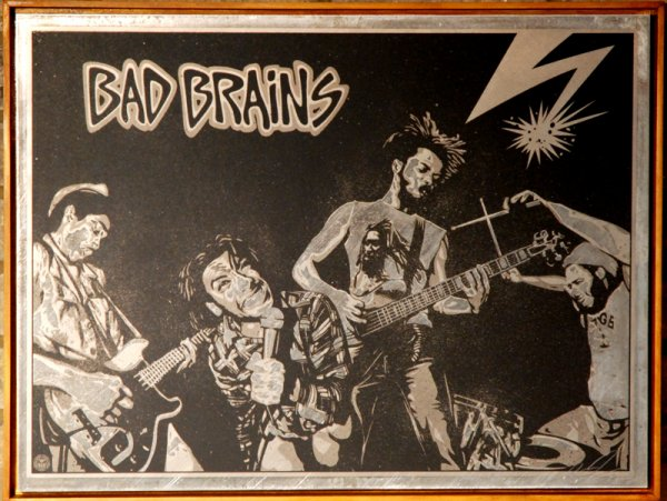 Bad Brains by Shepard Fairey at Brandler Galleries