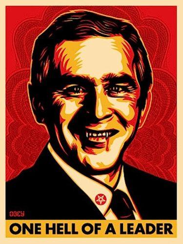 Bush Hell by Shepard Fairey