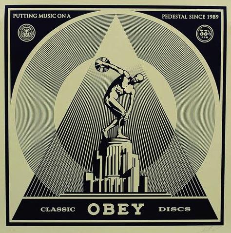 Classic Discs by Shepard Fairey