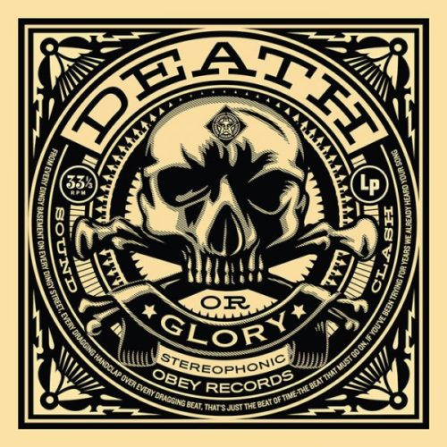 Death And Glory: 50 Shades Of Black Portfolio Set by Shepard Fairey