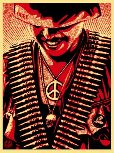Duality Of Humanity #1 by Shepard Fairey