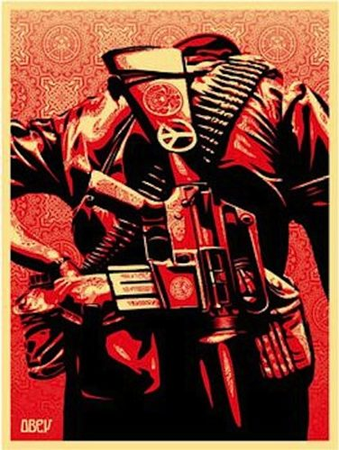 Duality Of Humanity 3 by Shepard Fairey