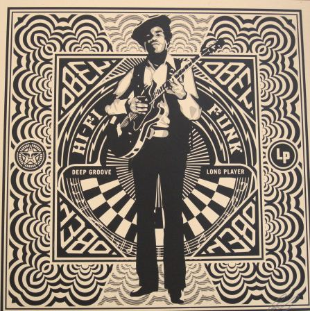 Funk Dance Floor by Shepard Fairey