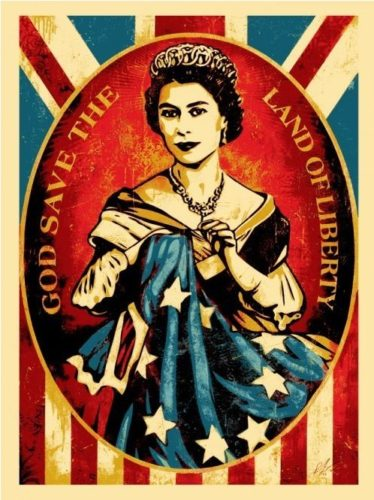 God Save The Queen by Shepard Fairey
