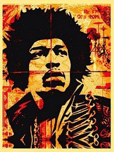 Hendrix by Shepard Fairey