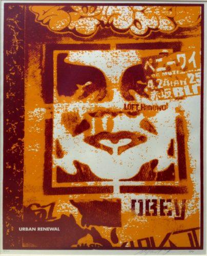 Japan Stencil by Shepard Fairey