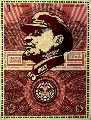 Lenin Money by Shepard Fairey
