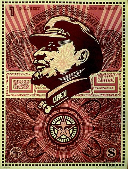 Lenin Money by Shepard Fairey