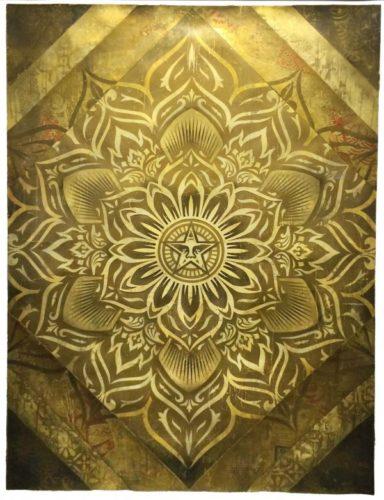 Lotus Diamond Version 1 by Shepard Fairey