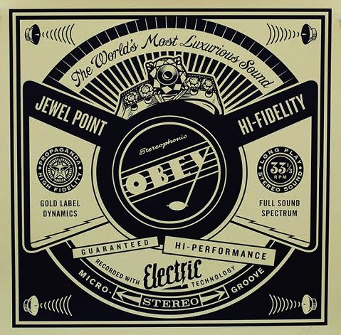Luxurious Sounds by Shepard Fairey