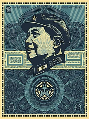 Mao Money by Shepard Fairey