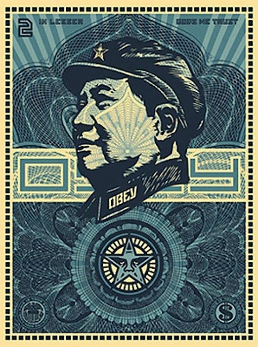 Mao Money by Shepard Fairey