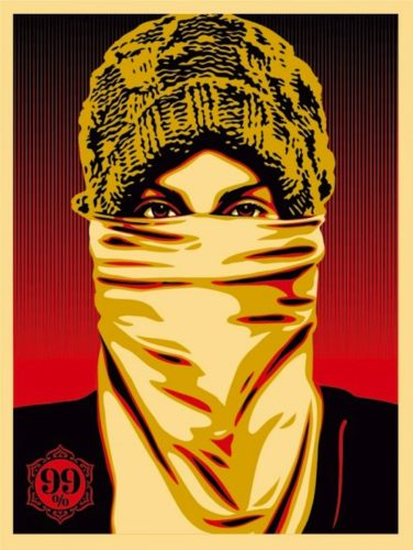Occupy Protestor by Shepard Fairey