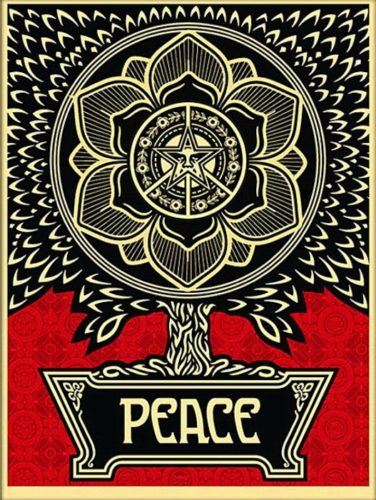Peace Tree by Shepard Fairey at Shepard Fairey