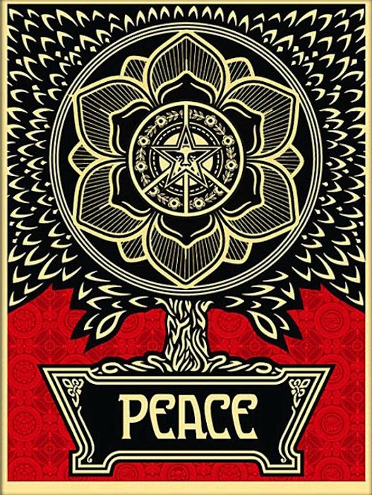 Peace Tree by Shepard Fairey