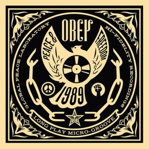 Peace And Freedom: 50 Shades Ofblack Portfolio Set by Shepard Fairey