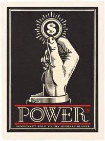 Power Bidder by Shepard Fairey