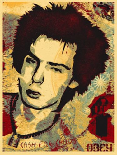 Sid Jocoy, From This Is Your God Series (large Format) by Shepard Fairey