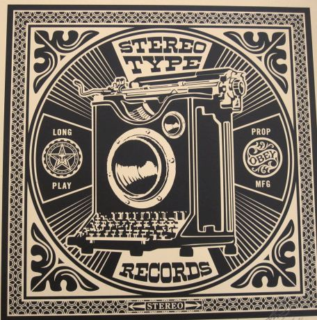 Stereotype Obey Party Album by Shepard Fairey