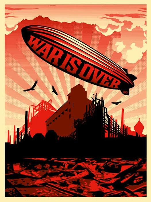 War Is Over by Shepard Fairey