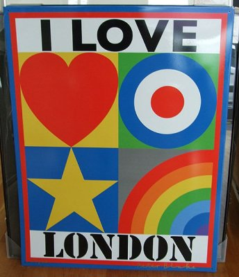I Love London by Peter Blake
