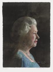 Queen Elizabeth Ii by Peter Blake at