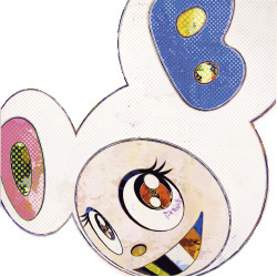 And Then X 6 (white: The Superflat Method) by Takashi Murakami at Vogtle Contemporary