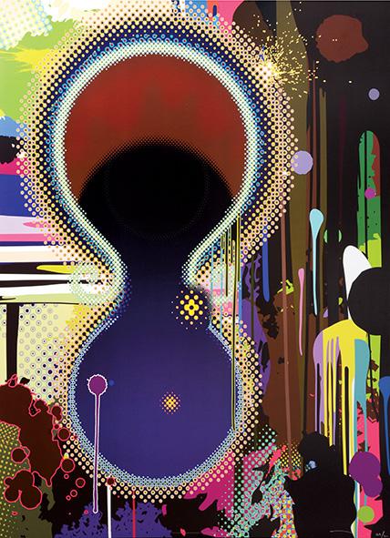 Dumb Compass. by Takashi Murakami