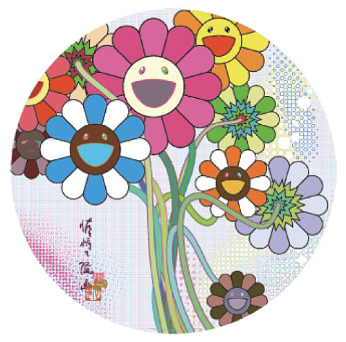 Even The Digital Realm Has Flowers To Offer by Takashi Murakami at Lieberman Gallery