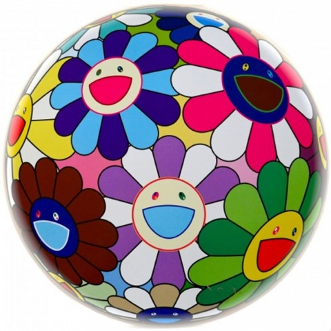 Flower Ball Dumpling by Takashi Murakami at Soho Contemporary Art