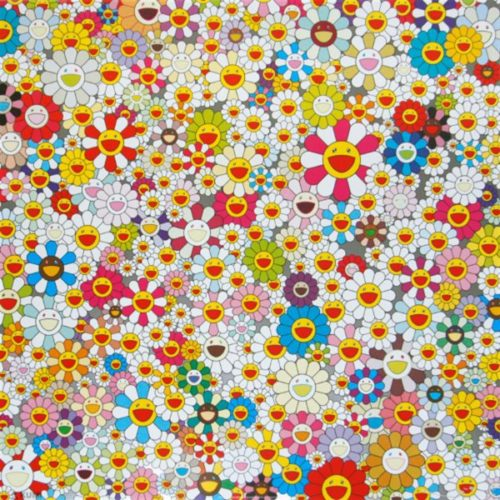 Field Of Smiling Flowers by Takashi Murakami at Lougher Contemporary